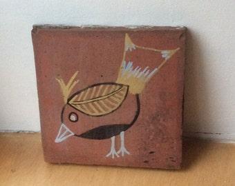 Robin Art Tile