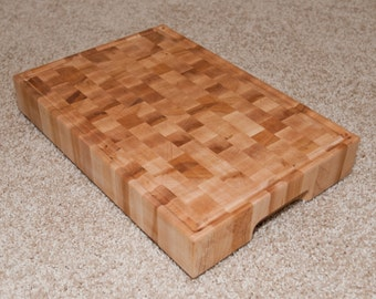 End Grain Maple Cutting Board