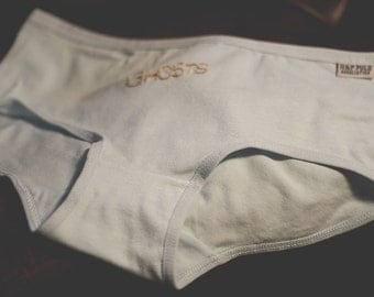 Ghosts: Embroidered Panties