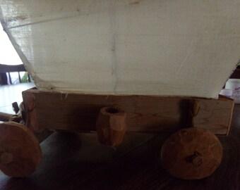 Wooden Wagon Handmade