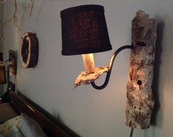 River Birch wall sconce