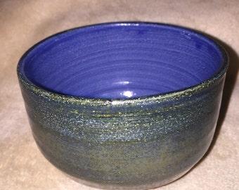 Bowl ceramic, wheelthrown