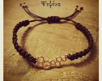 Bracelet with bubble charm