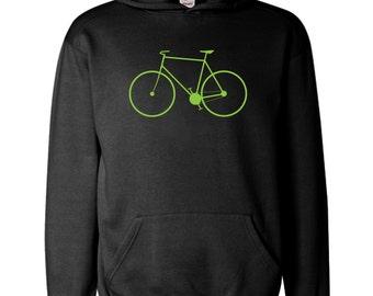 Cycling Bikes Bike Cycle Riding Retro Tour de France Christmas Xmas Birthday   Hoodie