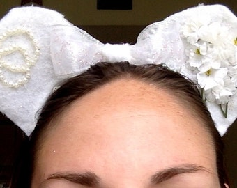 Just Married Bride Ears!