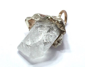 Trailer with rock crystal from the Switzerland of Swiss made