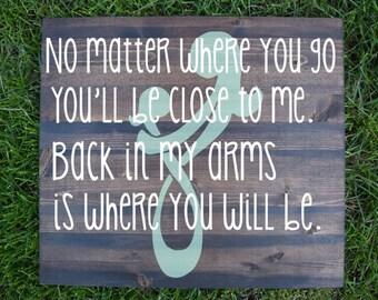 No Matter Where You Go