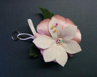 Keychain or Pincushion flower