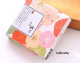 40 pcs Flower Japanese Washi Sticker - Washi Tape Masking Tape Decorative Planner Sticker