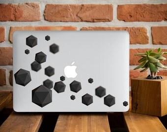 MacBook Air 13 Case MacBook Pro Retina 13 Case MacBook Pro 15 Case Macbook Laptop Case Macbook Air 13 Inch Case Molecular Black Science