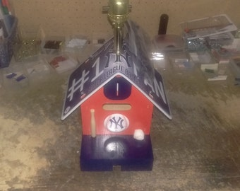 New York Yankee Lamp/Bank