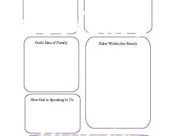Family Mission Worksheet