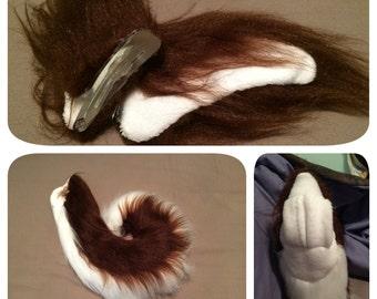 Husky Ears and Tail Set