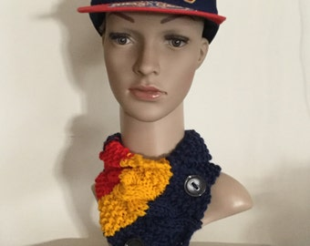 AFL neckwarmer, team, scarf, cowl
