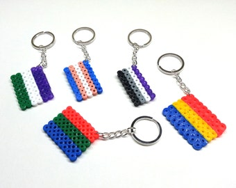 Queer Flags Keychains