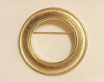 Vintage Circle Trifari Brooch