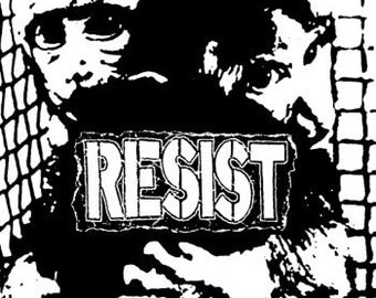 """Resist """"Animal Rights"""" patch"""