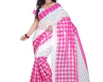 FREE SHIPPING Mungi Cotton Fabric Vintage Style Saree Indian Traditional Wrap Dress Sari Soie Antique Decorative Recycle Material 5YD Gift