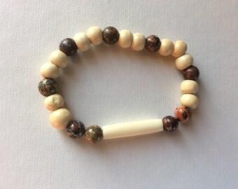 Zen yoga bracelet Jasper