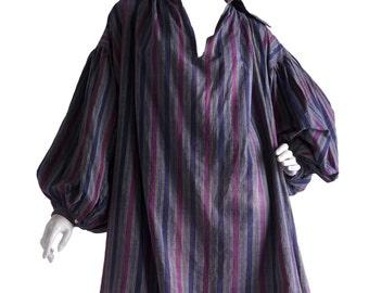 Vivienne Westwood Malcolm McLaren Pirate Collection Striped Cotton Shirt Autumn/Winter 1981-82 World's End
