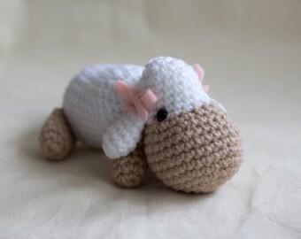 Little Lamb Amigurumi Crochet Pattern