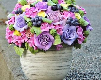 Flower arrangement, Table decoration, Home decor, Flowers