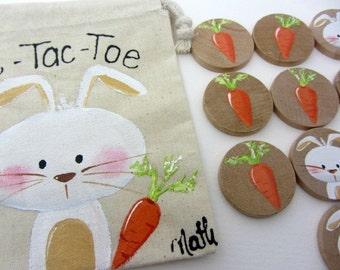 Game of Tic-Tac-Toe rabbit