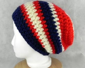 BEANIE * LONGBEANIE * crochet Beanie * Cap * unisex * SLOUCH * handmade