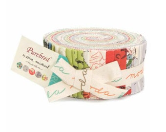 Purebred Jelly Roll (Design Roll) by Erin Michael for MODA Fabrics