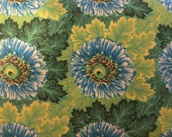 SALE 1/2 YD or 1 YARD Fabric -  Amy Butler - Hapi - Sun Flowers - Leaf Color