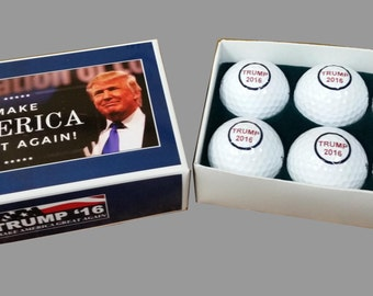 Trump Campaign 2016 Golf Ball set