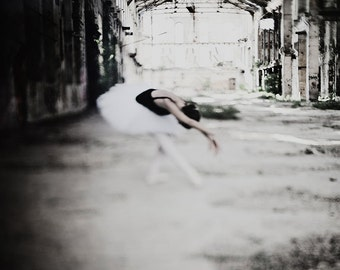 Something old. Ballet fine art photography.