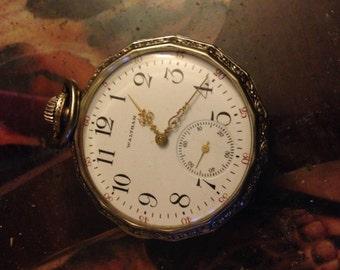1910 Waltham pocket watch