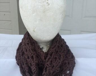 Handmade Crochet Infinity Scarf