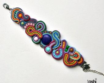 Soutache bracelet