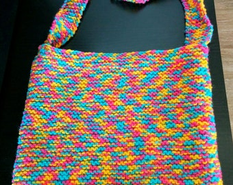 Big shoulder bag Multicolor