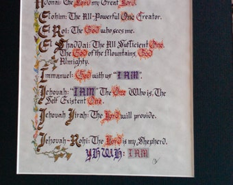 Names of God - from the Old Testament