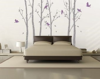 Urban Forest Grey Wall Sticker
