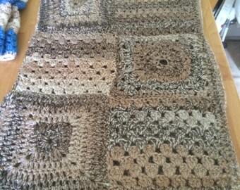 Crocheted Pram Blanket