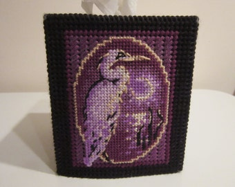 Heron Tissue Box Topper