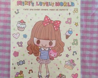 Miki's Lovely World Kawaii Letter Paper