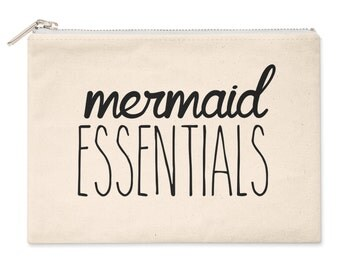 Mermaid Essentials Womens Girls Cosmetic Make Up Bag M35