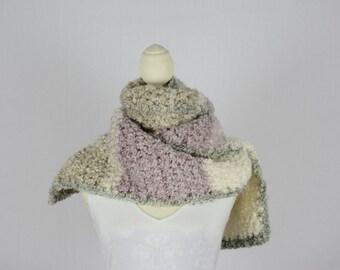 Crochet Scarf - Stripes