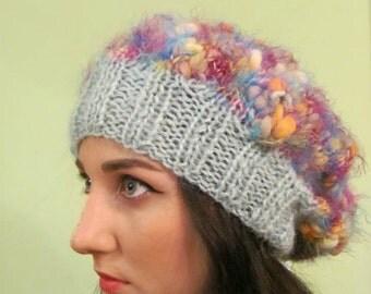 romantic ,womens hat trendy, handmaded hat, wool winter hat,valentines gift,hooded hats