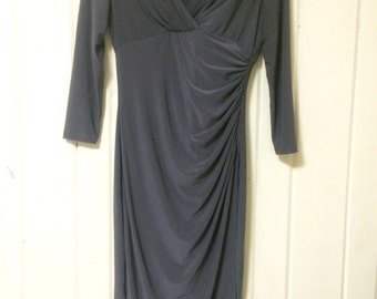 Long sleeved stretchy Calvin Klein dress size 4