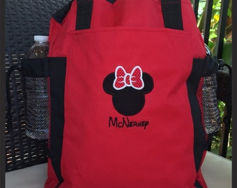 Personalized  Backpack Tote