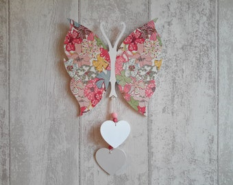 Table butterfly and its hearts