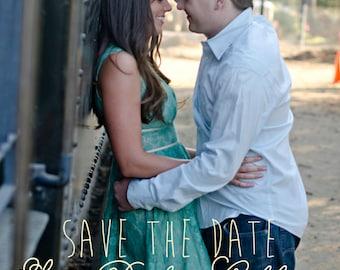 Customizable Postcard Save The Date