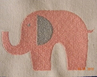 INSTANT DOWNLOAD ~ Elephant ~ Machine Embroidery Design ~ Multiple Formats Available
