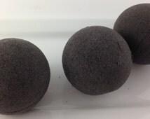 Black and Blueberry Bath Bomb/Black Bath Bomb/Bath Fizzies/Black Bath Water/Vegan